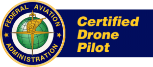 FAA certified drone pilot for videography and photography